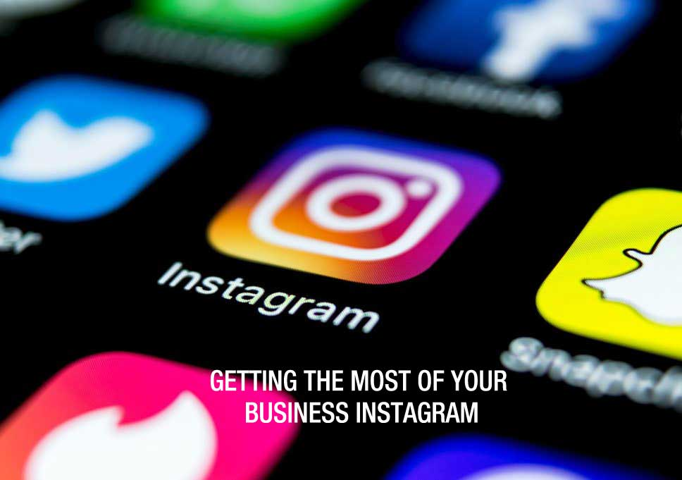 business instagram account