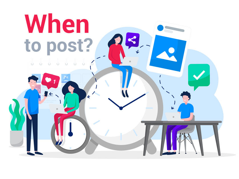 when to post on social media