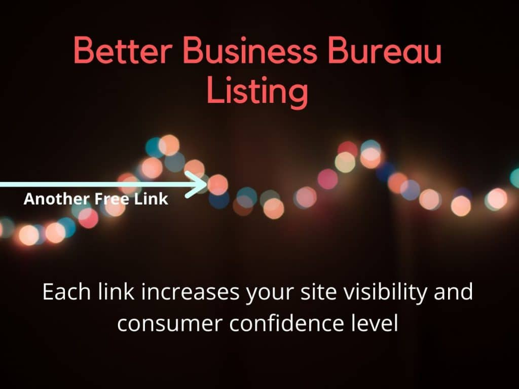 free listing with bbb